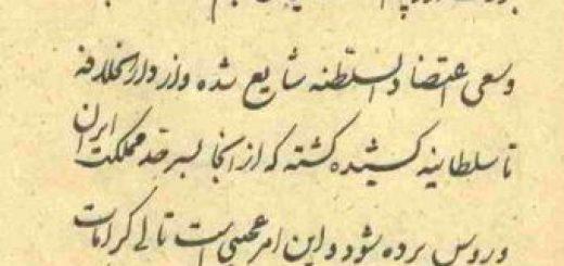مغناطیس محمد کریم خان کرمانی دربار قاجار تلگراف برق اعتضاد السلطنه