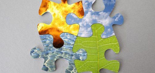 هوا, عناصر چهار گانه, عناصر اربعه, خاک, جسم, آتش, آب