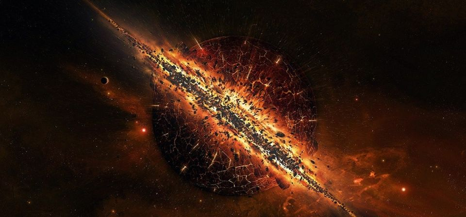 کیفیت خلقت عالم جسم خلقت آسمان ها و زمین جسم مطلق بیگ بنگ انفجار بزرگ آب حیات